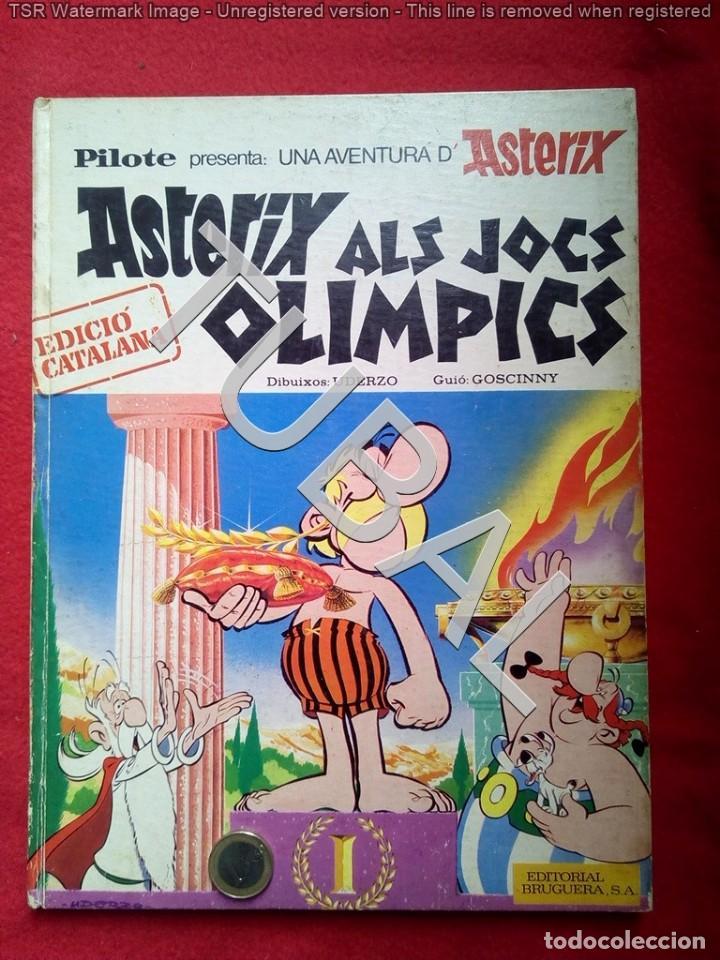 TUBAL ASTERIX 1ª ED 1969 ALS JOCS OLIMPICS 600 GRS BUEN ESTADO LOMO Y PUNTAS (Tebeos y Comics - Grijalbo - Asterix)