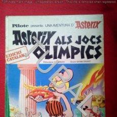 Cómics: TUBAL ASTERIX 1ª ED 1969 ALS JOCS OLIMPICS 600 GRS BUEN ESTADO LOMO Y PUNTAS . Lote 143397522