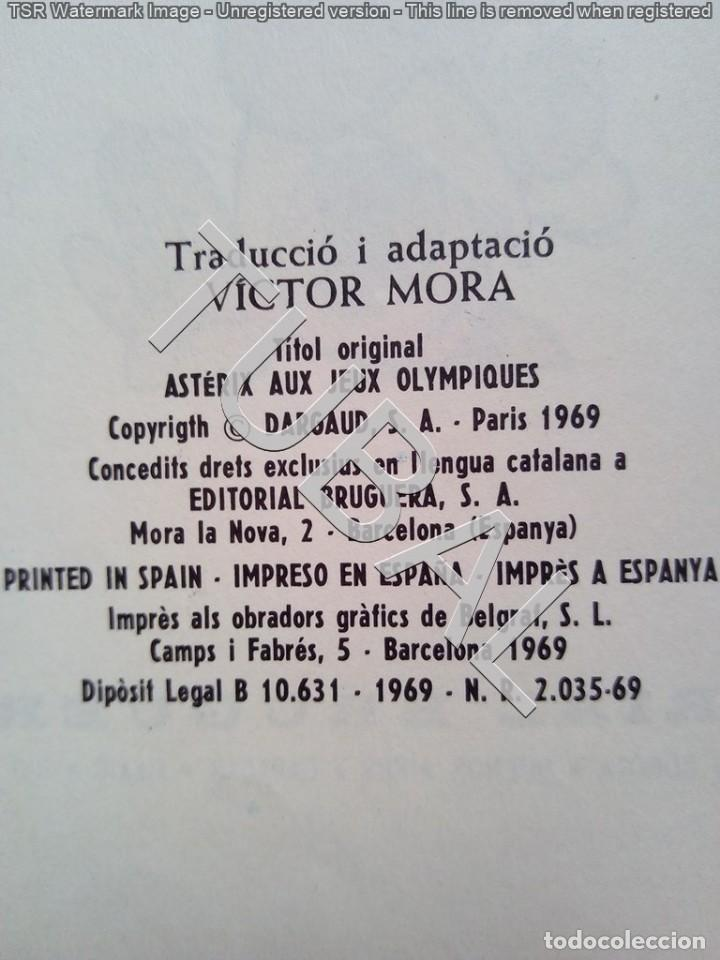 Cómics: TUBAL ASTERIX 1ª ED 1969 ALS JOCS OLIMPICS 600 GRS BUEN ESTADO LOMO Y PUNTAS - Foto 3 - 143397522