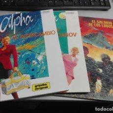 Cómics: ALPHA / COMPLETA 3 TOMOS / Y. JIGOUNOV - P. RENARD / GRIJALBO-DARGAUD. Lote 39165626