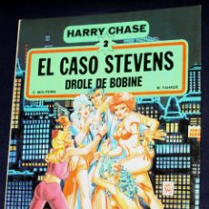 Cómics: HARRY CHASE 2 - EL CASO STEVENS - DROLE DE BOBINE (DE MOLITERNI & FAHRER) -NUEVO_. Lote 143593358