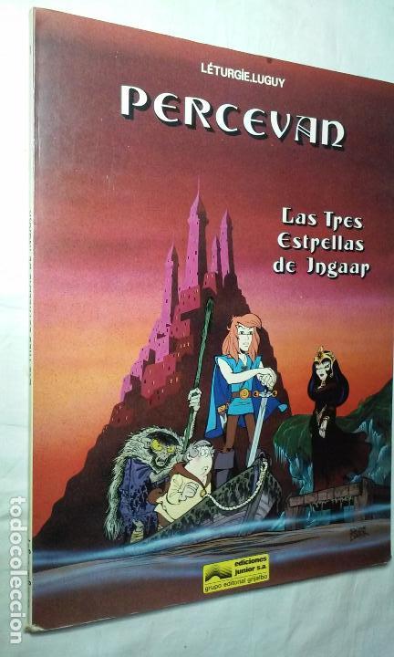 PERCEVAN N° 1 - LAS TRES ESTRELLAS DE INGAAR- (JUNIOR - GRIJALBO) (Tebeos y Comics - Grijalbo - Percevan)