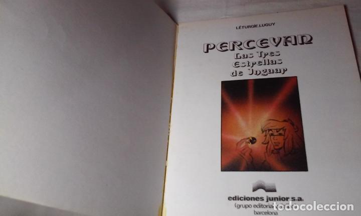 Cómics: PERCEVAN N° 1 - LAS TRES ESTRELLAS DE INGAAR- (JUNIOR - GRIJALBO) - Foto 2 - 143650658