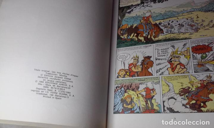 Cómics: PERCEVAN N° 1 - LAS TRES ESTRELLAS DE INGAAR- (JUNIOR - GRIJALBO) - Foto 4 - 143650658