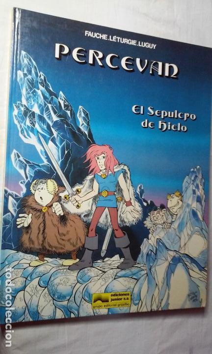 PERCEVAN N° 2 - EL SEPULCRO DE HIELO - (JUNIOR - GRIJALBO) (Tebeos y Comics - Grijalbo - Percevan)