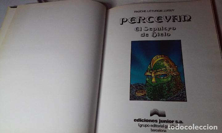 Cómics: PERCEVAN N° 2 - EL SEPULCRO DE HIELO - (JUNIOR - GRIJALBO) - Foto 5 - 143653714