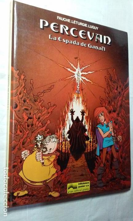 PERCEVAN N° 3 - LAS ESPADA DE GANAEL- (JUNIOR - GRIJALBO) (Tebeos y Comics - Grijalbo - Percevan)