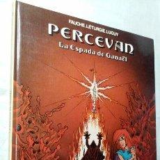 Cómics: PERCEVAN N° 3 - LAS ESPADA DE GANAEL- (JUNIOR - GRIJALBO). Lote 143655498