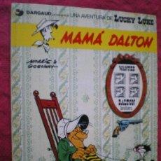 Cómics: MAMÁ DALTON. UNA AVENTURA DE LUCKY LUKE. GRIJALBO DARGAUD 1985. PERFECTO ESTADO.. Lote 143807946