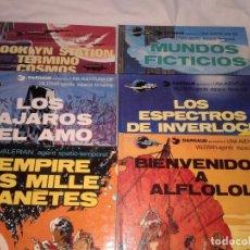Cómics: LOTE DE 6 COMICS DE VALERIAN, Nº 3-4-6-10-11, EN ESPAÑOL Y OTRO EN FRANCES. Lote 143963726