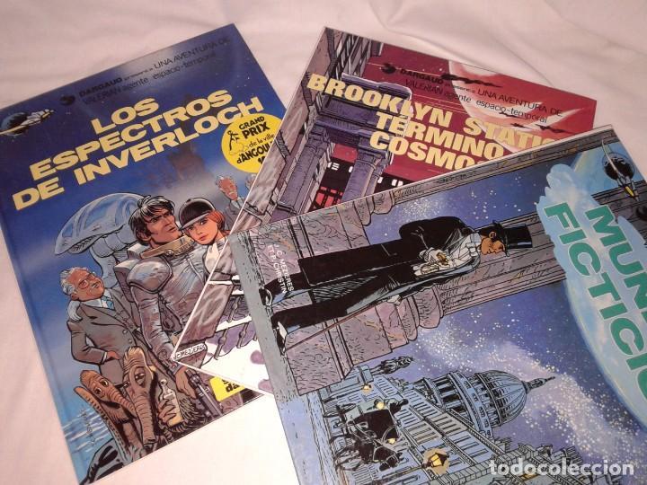 Cómics: LOTE DE 6 COMICS DE VALERIAN, Nº 3-4-6-10-11, EN ESPAÑOL Y OTRO EN FRANCES - Foto 5 - 143963726