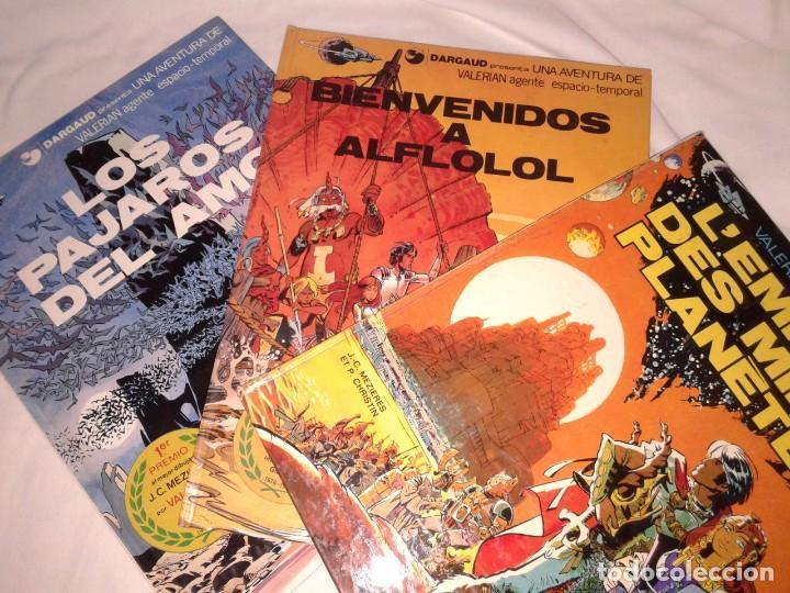 Cómics: LOTE DE 6 COMICS DE VALERIAN, Nº 3-4-6-10-11, EN ESPAÑOL Y OTRO EN FRANCES - Foto 6 - 143963726
