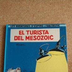 Cómics: EL TURISTA DEL MESOZOIC EN CATALA. Lote 143986278
