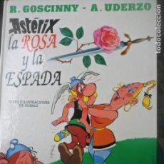 Cómics: ASTERIX, LA ROSA Y LA ESPADA - PLANETA JUNIOR 1996 -. Lote 143999750