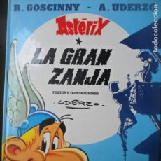 Cómics: ASTERIX, LA GRAN ZANJA - EDICIONES JUNIOR 1999 - GRIJALBO - TAPA DURA. Lote 144000050