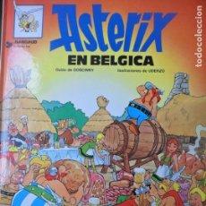 Cómics: ASTERIX, EN BELGICA - EDICIONES JUNIOR 1987 - GRIJALBO - TAPA DURA. Lote 144000138