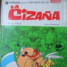 Cómics: ASTERIX, LA CIZAÑA - EDICIONES JUNIOR 1982 - GRIJALBO - TAPA DURA. Lote 144001102