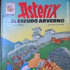 Cómics: ASTERIX, EL ESCUDO ARVERNO - EDICIONES JUNIOR 1987 - GRIJALBO - TAPA DURA. Lote 144001166