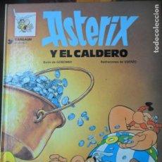 Cómics: ASTERIX, Y EL CALDERO - EDICIONES JUNIOR 1993 - GRIJALBO - TAPA DURA. Lote 144001362