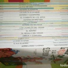 Cómics: LAS AVENTURAS DE ASTERIX LOTE 19 TOMOS EDICION NUMERADA GRIJALBO DARGAUD TAPA DURA. Lote 144063114