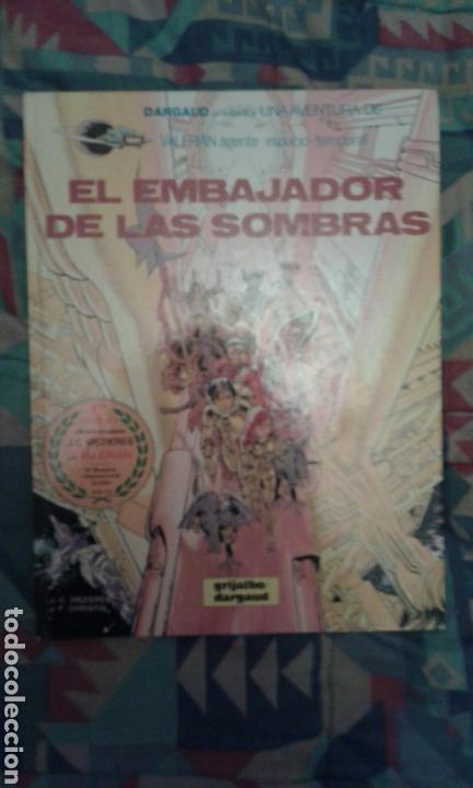 VALERIAN: EL EMBAJADOR DE LAS SOMBRAS: TAPA DURA (Comics und Tebeos - Grijalbo - Valerian)