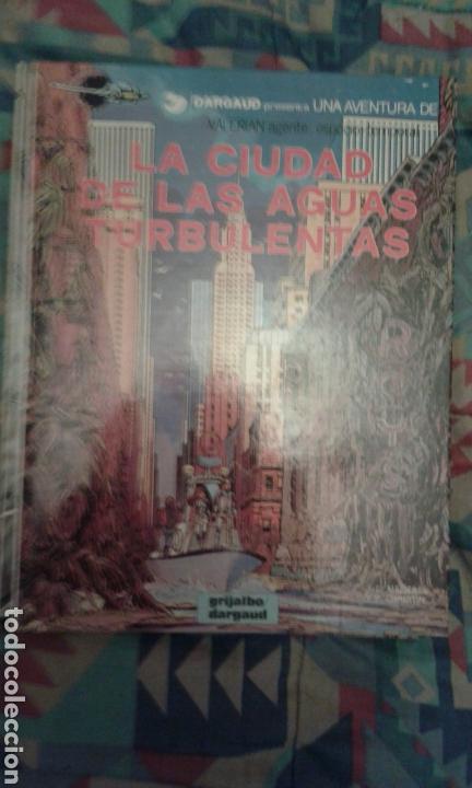 VALERIAN: LA CIUDAD DE LAS AGUAS TURBULENTAS: TAPA DURA (Tebeos y Comics - Grijalbo - Valerian)