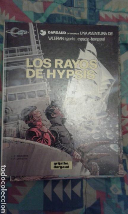 VALERIAN: LOS RAYOS DE HYPSIS: TAPA DURA (Comics und Tebeos - Grijalbo - Valerian)