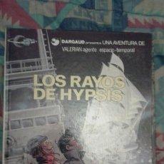 Cómics: VALERIAN: LOS RAYOS DE HYPSIS: TAPA DURA. Lote 144140574