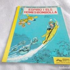 Cómics: LES AVENTURES D'ESPIRÚ I FANTÀSTIC Nº 13 ESPIRÚ I ELS HOMES-BOMBOLLA. Lote 144293126
