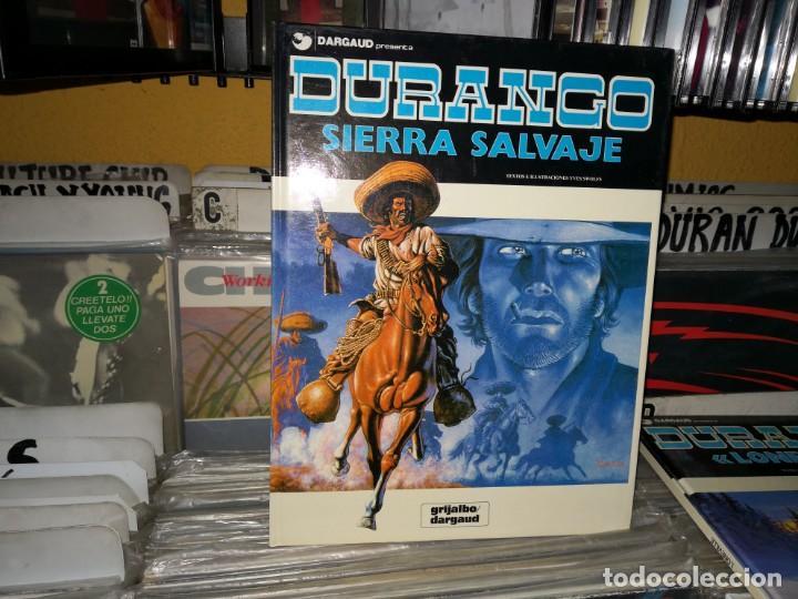 DURANGO, SIERRA SALVAJE,5. YVES SWOLFS. EDICIONES GRIJALBO DARGAUD,1989 (Tebeos y Comics - Grijalbo - Durango)