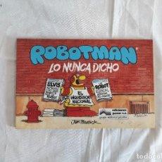 Cómics: TOMO 2 ROBOTMAN EDITORIAL GRIJALBO (AÑO 1987). Lote 144758530