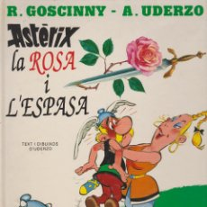 Cómics: ASTERIX LA ROSA I L'ESPASA. Lote 144787522