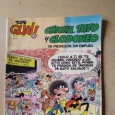 Cómics: TOPE GUAI, CHICHA TATO Y CLODOVEO Nº 1. Lote 144883962