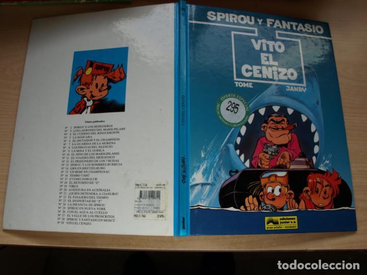 SPIROU Y FANTASIO - VITO EL CENIZO - NÚMERO 29 - EDICIONES JUNIOR (Tebeos y Comics - Grijalbo - Spirou)