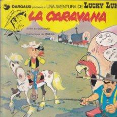 Cómics: COMIC COLECCION LUCKY LUKE LA CARAVANA TAPAS CARTONE. Lote 145042806
