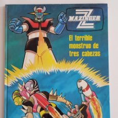 Cómics: MAZINGER Z EL TERRIBLE MONSTRUO DE TRES CABEZAS (1978). Lote 145174870