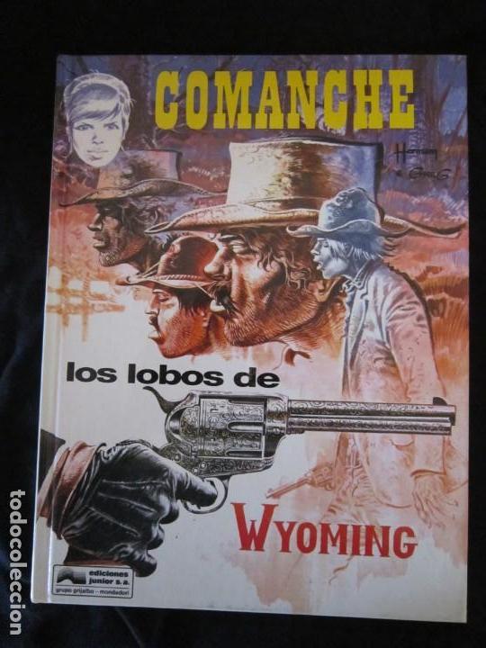 COMANCHE Nº 3 LOS LOBOS DE WYOMING POR HERMAN & GREG. JUNIOR GRIJALBO 1992 MBE TAPA DURA (Tebeos y Comics - Grijalbo - Comanche)