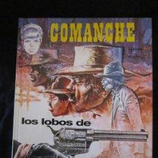 Cómics: COMANCHE Nº 3 LOS LOBOS DE WYOMING POR HERMAN & GREG. JUNIOR GRIJALBO 1992 MBE TAPA DURA. Lote 145182666