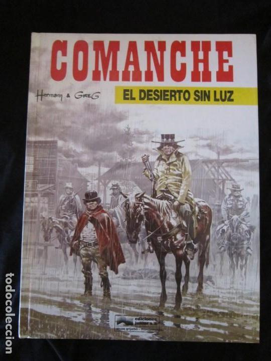 COMANCHE Nº 5 EL DESIERTO SIN LUZ POR HERMAN & GREG. JUNIOR GRIJALBO 1992 MBE TAPA DURA (Tebeos y Comics - Grijalbo - Comanche)