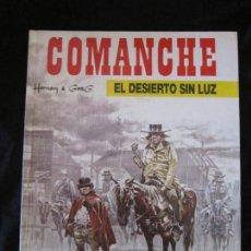 Cómics: COMANCHE Nº 5 EL DESIERTO SIN LUZ POR HERMAN & GREG. JUNIOR GRIJALBO 1992 MBE TAPA DURA. Lote 145182850