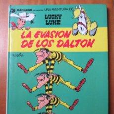 Cómics: LUCKY LUKE 16 LA EVASION DE LOS DALTON (GRIJALBO / DARGAUD 1970). Lote 145493662