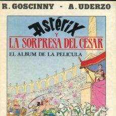 Cómics: ASTERIX -LA SORPRESA DEL CESAR -TEXT GOSCINNY DIB.UDERZO LLIBRE DE LA PELICULA-EDIC. JUNIOR AÑO 1991. Lote 145892090