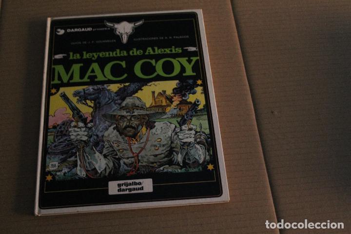 MAC COY Nº 1, LA LEYENDA DE ALEXIS MAC COY, TAPA DURA, EDITORIAL GRIJALBO (Tebeos y Comics - Grijalbo - Mac Coy)