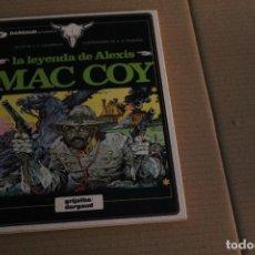 Cómics: MAC COY Nº 1, LA LEYENDA DE ALEXIS MAC COY, TAPA DURA, EDITORIAL GRIJALBO. Lote 145987414