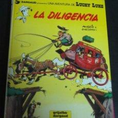 Cómics: LA DILIGENCIA LUCKY LUKE Nº 24 GOSCINNY GRIJALBO DARGAUD AÑO 1983 TAPA DURA. Lote 146121906