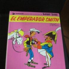 Comics : EL EMPERADOR SMITH LUCKY LUKE Nº 1 GOSCINNY EDICIONES JUNIOR AÑO 1976 TAPA DURA. Lote 146124450