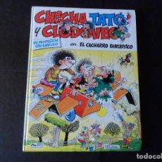 Cómics: CHICHA TATO Y CLODOVEO Nº 4 EL CACHARRO FANTASTICO / GRIJALBO 1987 TAPA DURA. Lote 146126986