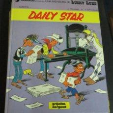 Comics : DAILY STAR LUCKY LUKE Nº 30 X, FAUCHE J. LÉTURGIE GRIJALBO DARGAUD AÑO 1984 TAPA DURA. Lote 146127102