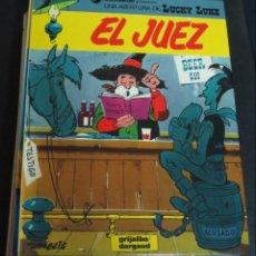 Comics : EL JUEZ LUCKY LUKE Nº 36 MORRIS GRIJALBO DARGAUD AÑO 1988 TAPA DURA. Lote 146127694