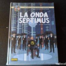 Cómics: LAS AVENTURAS DE BLAKE Y MORTIMER - Nº 22 LA ONDA SEPTIMUS EDITORIAL NORMA TAPA DURA . Lote 146166154